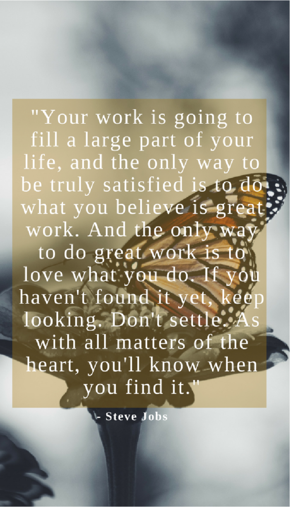 Steve jobs positive life quotes