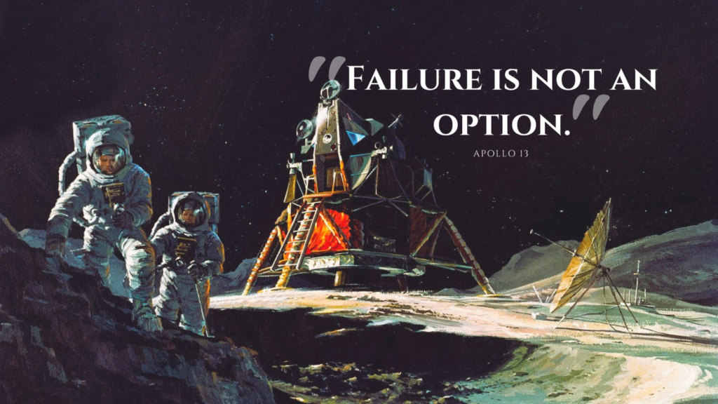 Apollo 13 Quote